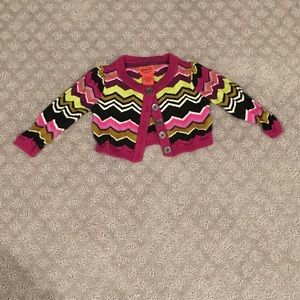 Missoni for Target cropped baby cardigan sweater